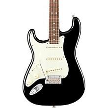 American Professional Stratocaster Left-Handed Rosewood Fingerboard Black