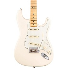 American Professional Stratocaster Maple Fingerboard Electric Guitar Olympic White