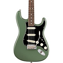 American Professional Stratocaster Rosewood Fingerboard Electric Guitar Antique Olive