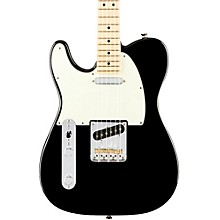 American Professional Telecaster Left-Handed Maple Fingerboard Electric Guitar Black