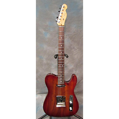 Fender American Select Koa Top Telecaster Solid Body Electric Guitar