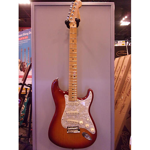 Fender American Select Port Orford Cedar Stratocaster Solid Body Electric Guitar