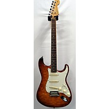 Fender American Select Stratocaster Exotic Quilt Maple Top Solid Body Electric Guitar