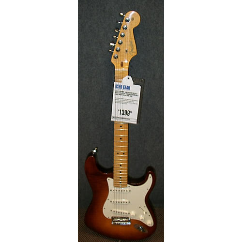 Fender American Select Stratocaster Solid Body Electric Guitar-thumbnail