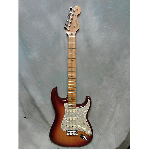 Fender American Select Stratocaster Solid Body Electric Guitar Sienna Sunburst