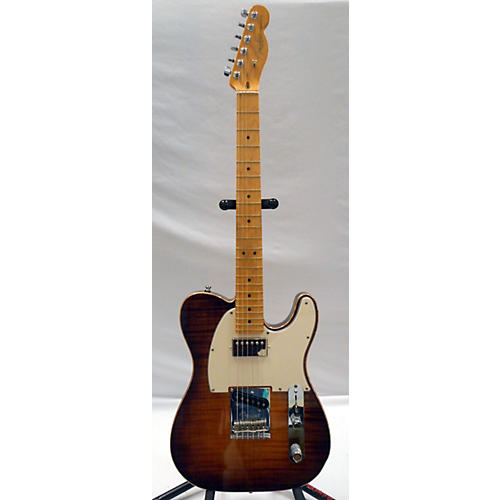 Fender American Select Telecaster Flame Maple Top Chambered Ash Body Hollow Body Electric Guitar-thumbnail
