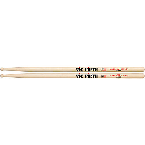 Vic Firth American Sound Hickory Drumsticks-thumbnail