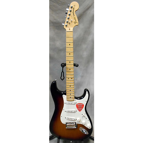 Fender American Special Stratocaster 2 Tone Sunburst Solid Body Electric Guitar-thumbnail