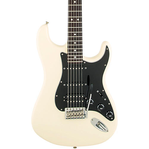 Fender American Special Stratocaster HSS Electric Guitar with Rosewood Fingerboard Olympic White Rosewood Fingerboard