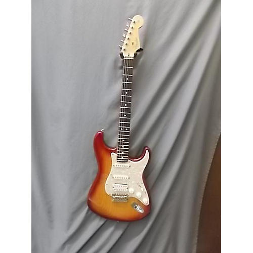 Fender American Standard Ash Stratocaster Solid Body Electric Guitar-thumbnail