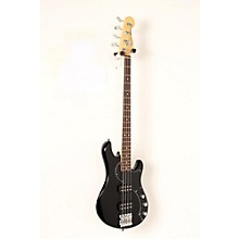 American Standard HH Dimension Bass IV Rosewood Fingerboard Electric Bass Guitar Level 2 Black 190839071064