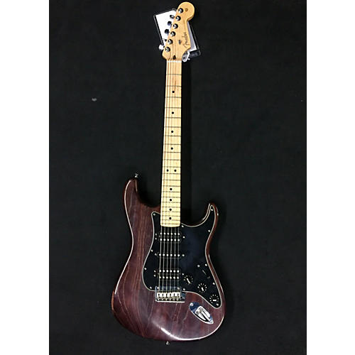 Fender American Standard Hand Rubbed Ash Stratocaster HSH Solid Body Electric Guitar-thumbnail