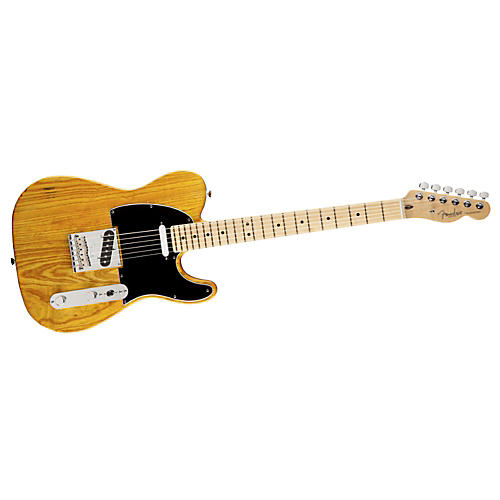 Fender American Standard Hand-Rubbed Ash Telecaster Electric Guitar-thumbnail