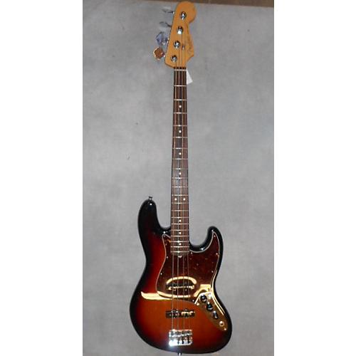 Fender American Standard Jazz Bass 3 Tone Sunburst Electric Bass Guitar