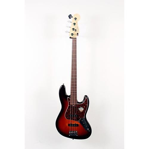 Fender American Standard Jazz Bass Fretless 3-Color Sunburst 888365111537