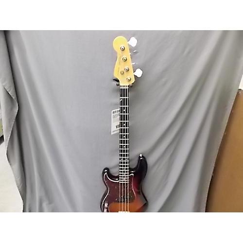 Fender American Standard Jazz Bass Left Handed Electric Bass Guitar-thumbnail