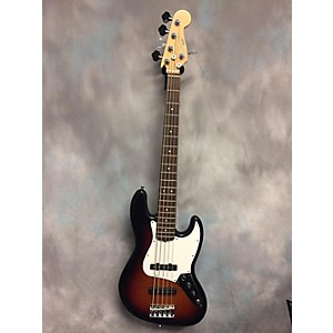Pre-owned Fender American Standard Jazz Bass V 5 String Electric Bass Guitar