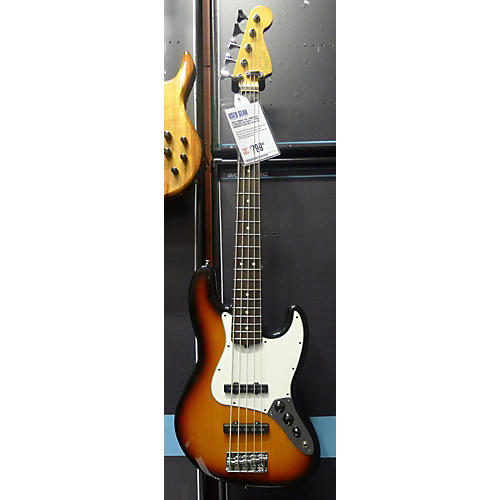Fender American Standard Jazz Bass V Electric Bass Guitar-thumbnail