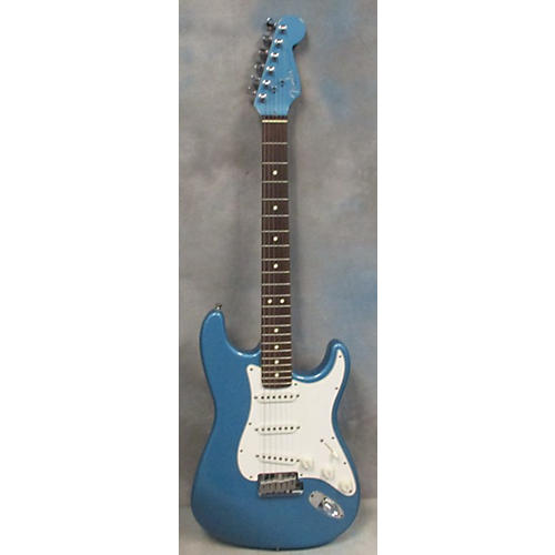 Fender American Standard Limited Edition Stratocaster Matching Headstock Solid Body Electric Guitar Lake Placid Blue