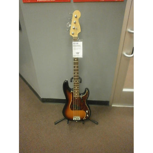 Fender  American Standard Precision Bass 3 Tone Sunburst Electric Bass Guitar