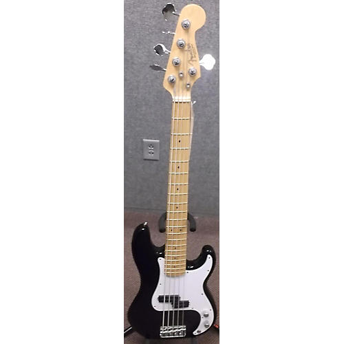 Fender American Standard Precision Bass V 5 String Black Electric Bass Guitar