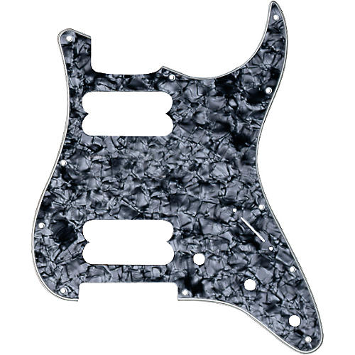 Fender American Standard Stratocaster 11-Hole Pickguard for Dual Humbucker Models Black Pearl
