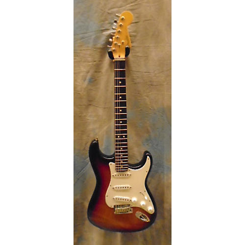 Fender American Standard Stratocaster 3 Tone Sunburst Solid Body Electric Guitar