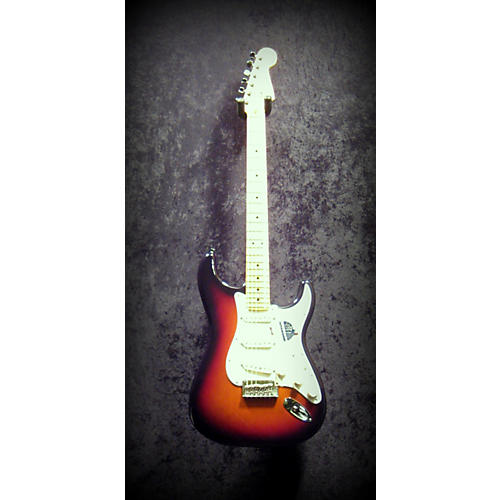 Fender American Standard Stratocaster 3 Tone Sunburst Solid Body Electric Guitar-thumbnail