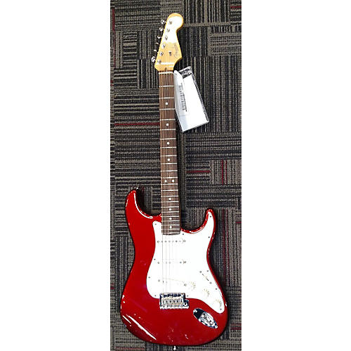 Fender American Standard Stratocaster Candy Apple Red Solid Body Electric Guitar