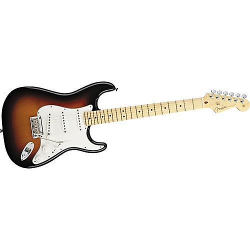 Fender American Standard Stratocaster Electric Guitar 3-Color Sunburst Maple Fretboard