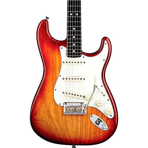 Fender American Standard Stratocaster Electric Guitar Sienna Sunburst Rosewood Fingerboard