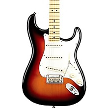 American Standard Stratocaster Electric Guitar with Maple Fingerboard 3-Color Sunburst Maple Fingerboard