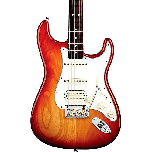 Fender American Standard Stratocaster HSS Electric Guitar with Rosewood Fretboard Sienna Sunburst Rosewood Fingerboard