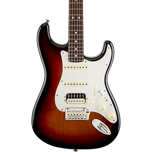 Fender American Standard Stratocaster HSS Shawbucker Rosewood Fingerboard Electric Guitar-thumbnail