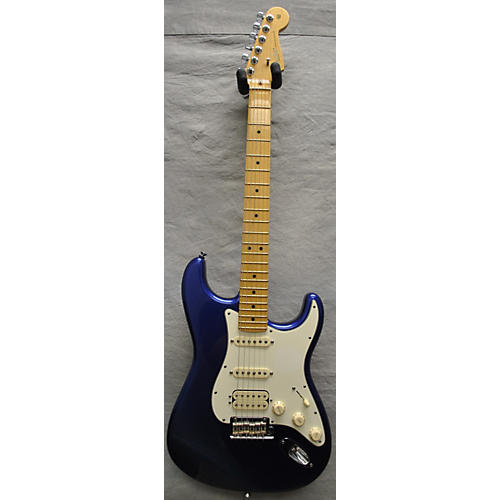 Fender American Standard Stratocaster HSS Solid Body Electric Guitar Electron Blue Metallic
