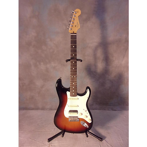 Fender American Standard Stratocaster Hss Shawbucker Solid Body Electric Guitar-thumbnail