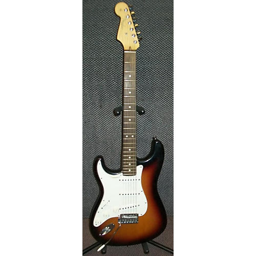 used fender american standard stratocaster left handed electric guitar guitar center. Black Bedroom Furniture Sets. Home Design Ideas