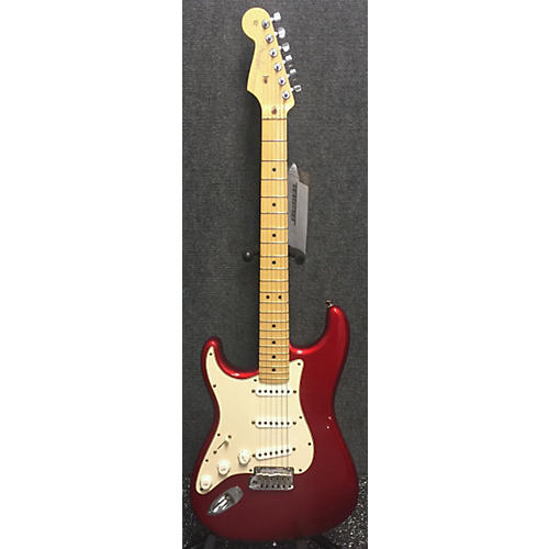 Fender American Standard Stratocaster Left Handed Electric Guitar-thumbnail