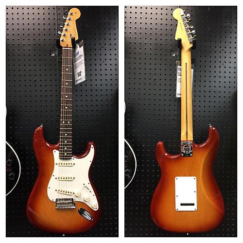 Fender American Standard Stratocaster Sienna Sunburst Solid Body Electric Guitar