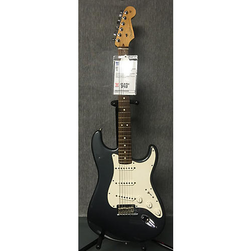 Fender American Standard Stratocaster Solid Body Electric Guitar Pewter
