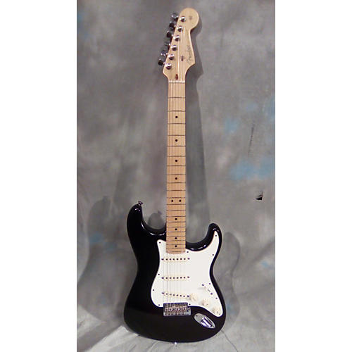 Fender American Standard Stratocaster Solid Body Electric Guitar Black and White