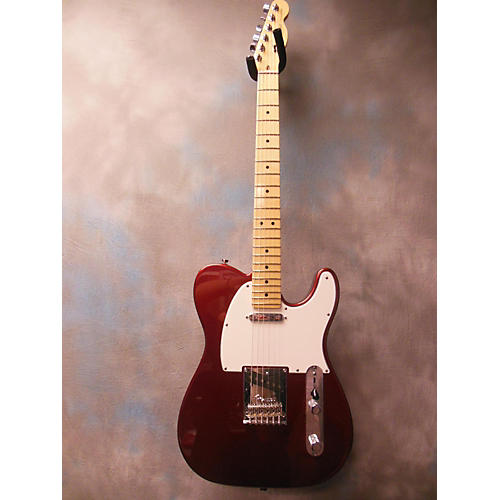 Fender American Standard Telecaster Candy Apple Red Solid Body Electric Guitar-thumbnail