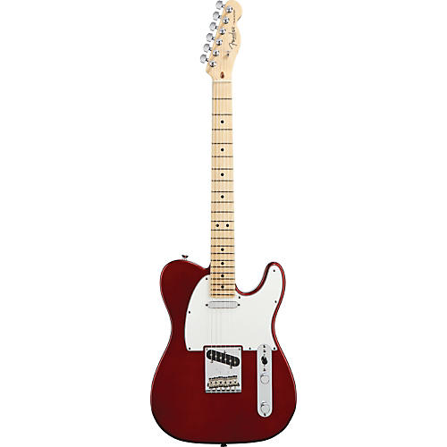 Fender American Standard Telecaster Electric Guitar with Maple Fingerboard Candy Cola Maple Fingerboard