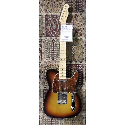 Fender American Standard Telecaster Solid Body Electric Guitar 3 Tone Sunburst