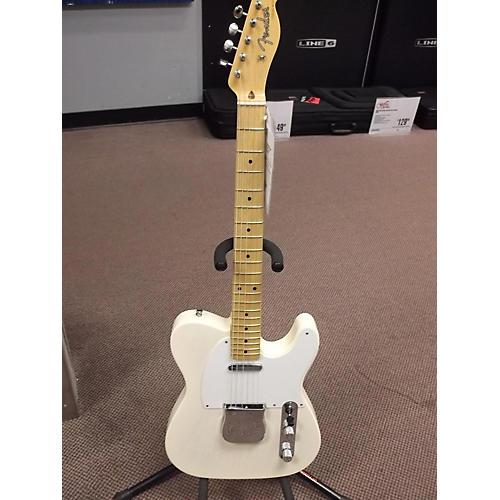 Fender American Vintage 1958 Telecaster Alpine White Solid Body Electric Guitar