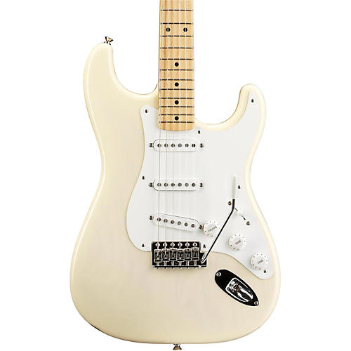 Fender American Vintage '56 Stratocaster Electric Guitar Aged White Blonde Maple Neck