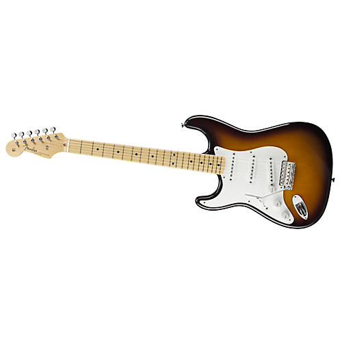 Fender American Vintage '56 Stratocaster Left-Handed Electric Guitar 2-Color Sunburst Maple Neck