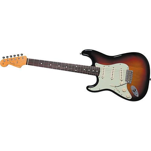 Fender American Vintage 62 Stratocaster Left-Handed Electric Guitar 3-Color Sunburst Rosewood Fretboard