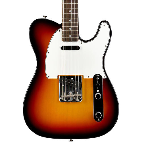 Fender American Vintage '64 Telecaster Electric Guitar 3-Color Sunburst Rosewood Fingerboard