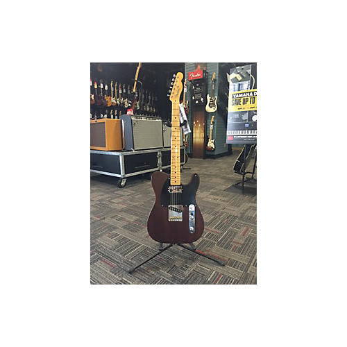 Fender American Vintage Hot Rod 50s Reclaimed Redwood Telecaster Solid Body Electric Guitar